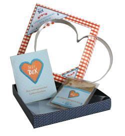 Bild von Lebkuchen-Geschenkbox offen