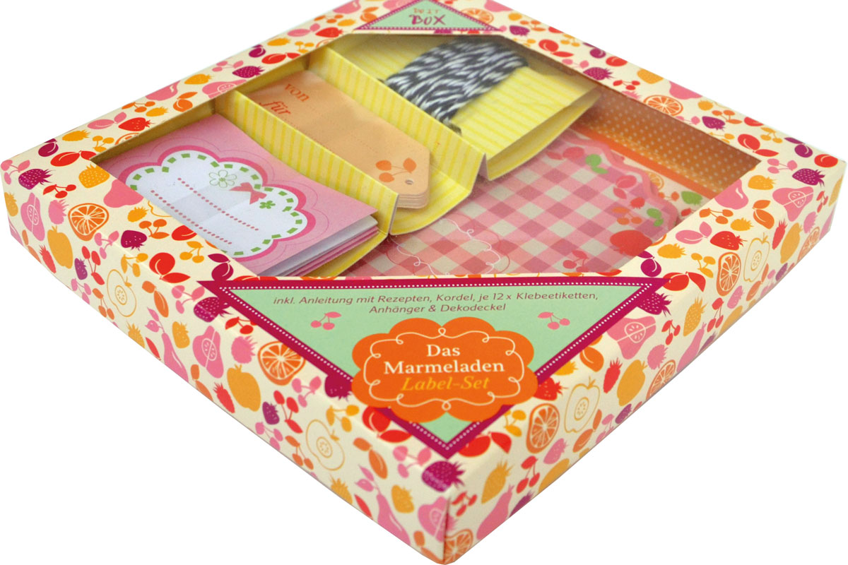 Bild Marmeladen Label Do it Geschenkbox